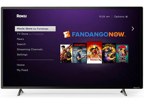 How It Works: Roku Smart TVs and Streaming Players | FandangoNOW