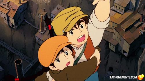 Castle in the Sky - Studio Ghibli Fest 2018: Fathom Events Trailer