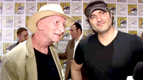 Comic-Con 2014: Exclusive Interview - Frank Miller and Robert Rodriguez