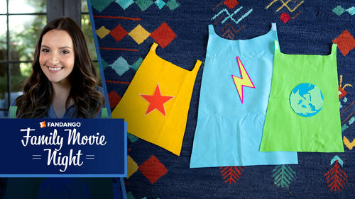How to Make an Easy Kids' Superhero Cape | Family Movie Night