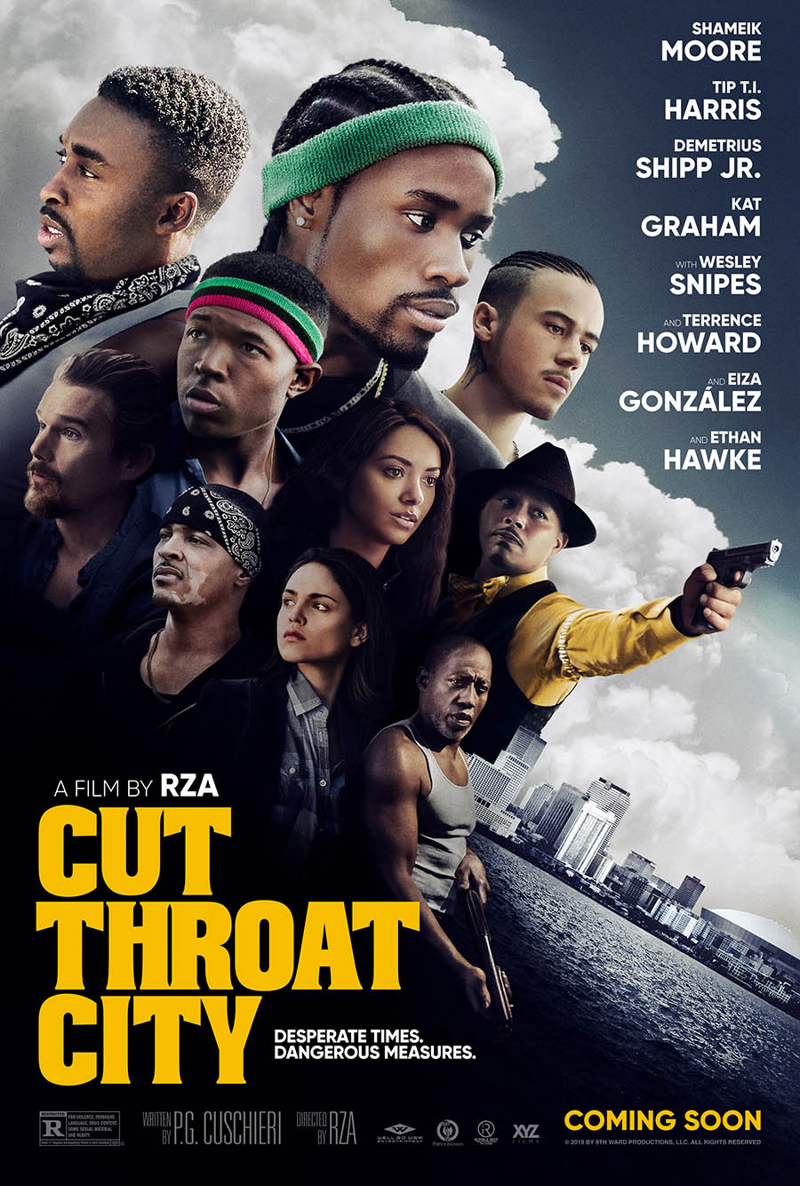 Cut Throat City poster art