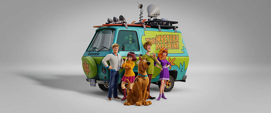 scoob! cast mystery machine