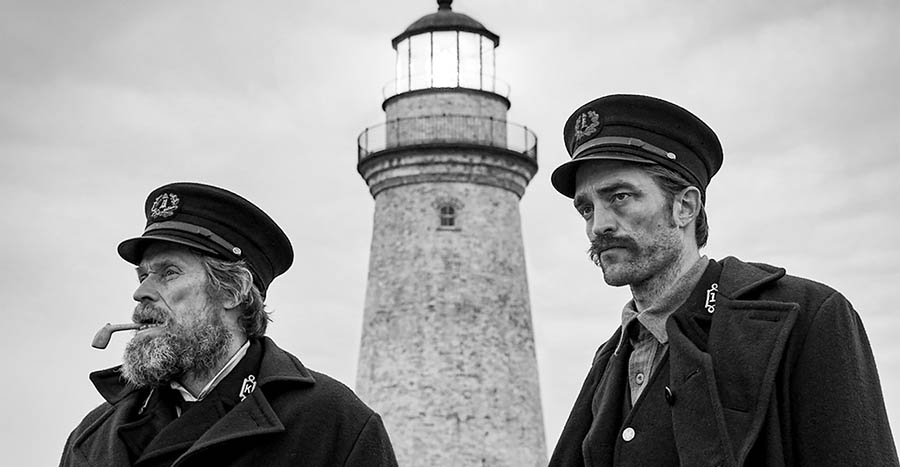 Willem Dafoe Robert Pattinson The Lighthouse