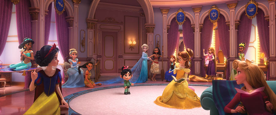 Ralph Breaks the Internet: Wreck-It Ralph 2 princesses
