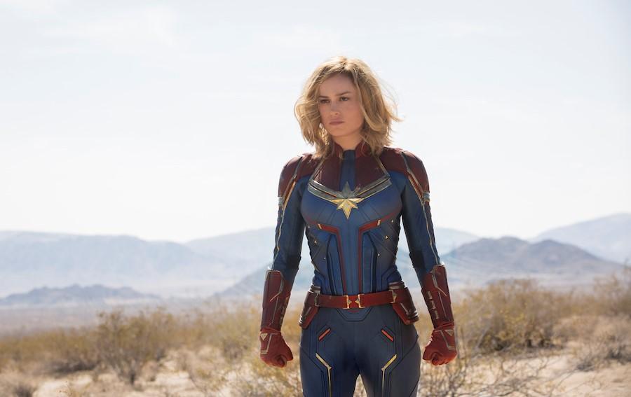 Brie Larson Carol Dancers Captain Marvel