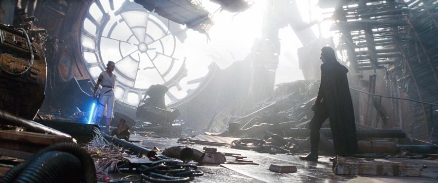 Daisy Ridley Rey Adam Driver Kylo Ren Star Wars: The Rise of Skywalker