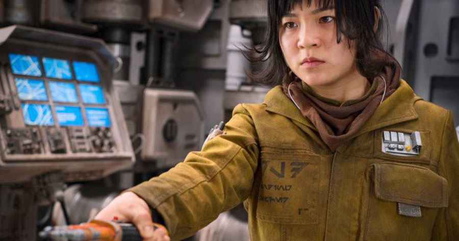Kelly Marie Tran Rose Tico Star Wars: The Force Awakens