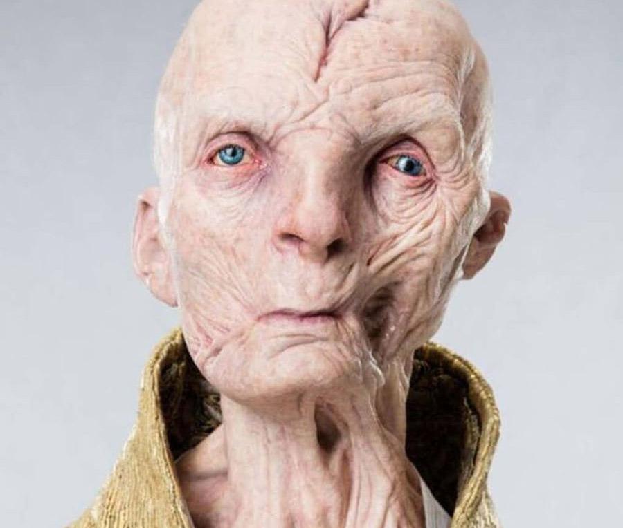 Supreme Leader Snoke Star Wars: The Last Jedi Andy Serkis