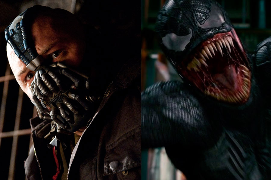 Tom Hardy Goes From Bane To Venom For Sony Fandango