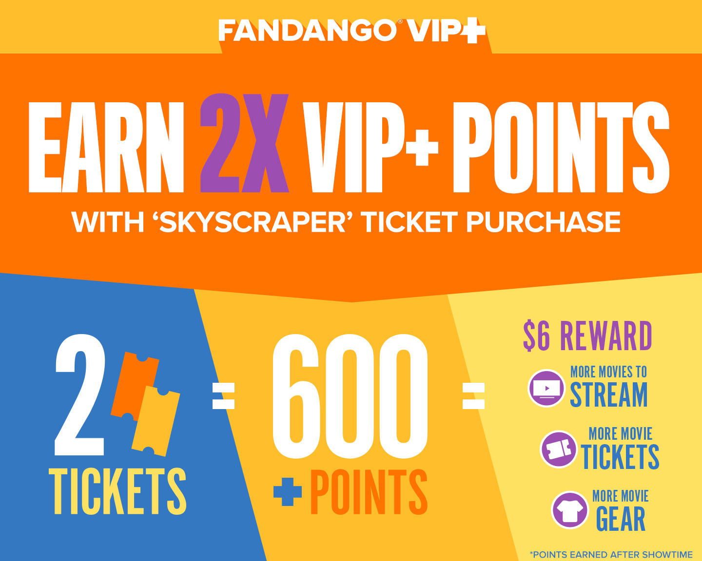 EARN 2X VIP+ POINTS