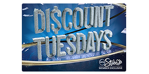 <b>AMC Stubs® Members Save Big with Discount Tuesdays</b>