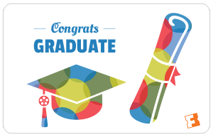 Congrats Graduate Gift Card