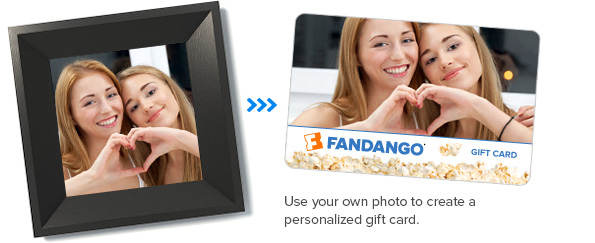 Fandango gift cards movie gift cards movie gift certificates see all custom gift cards negle Images