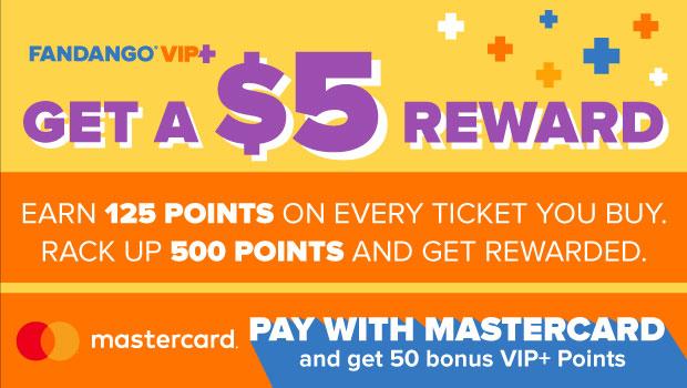 500 POINTS = $5 REWARD