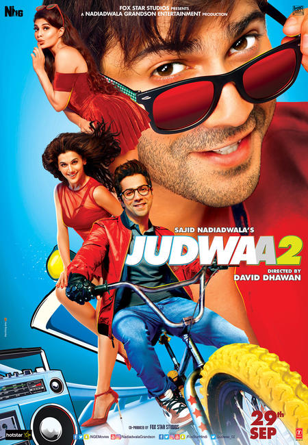 Judwaa 2 2017 Hindi Movie HDRip movie poster