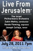 Renee Fleming Live with the Israel Philharmonic Orchestra