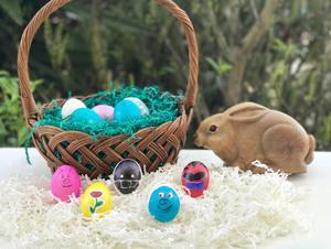 Family DIY: Make Movie Character Easter Eggs