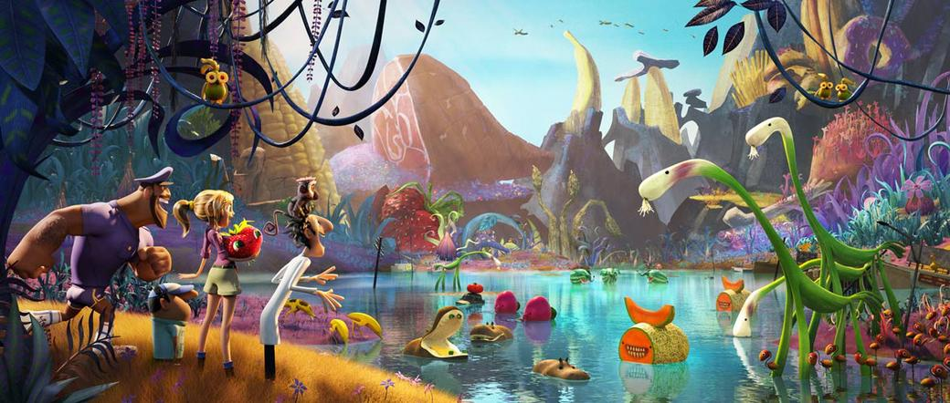 Cloudy with a Chance of Meatballs 2 3D Photos + Posters