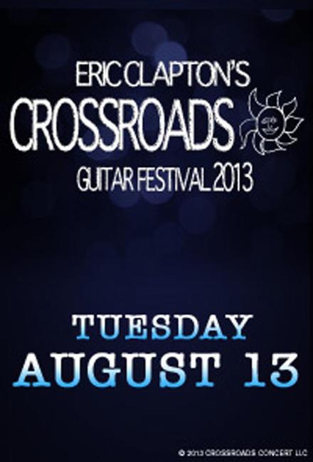 Eric Clapton's Crossroads 2013 Photos + Posters
