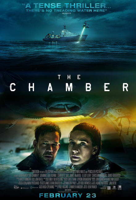 Image result for The Chamber poster