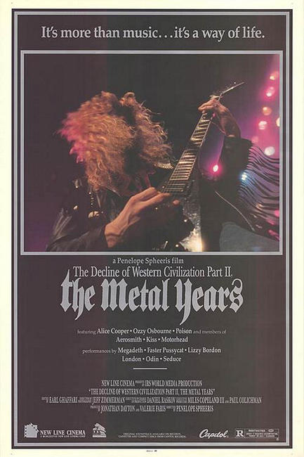 The Decline of Western Civilization Part II: The Metal Years Photos + Posters