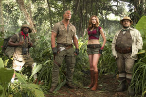 Inside the Characters of 'Jumanji: Welcome to the Jungle'