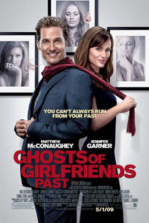 """Poster art for """"Ghosts of Girlfriends Past."""""""