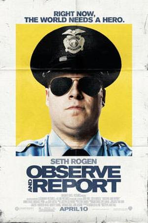 "Poster art for ""Observe and Report."""
