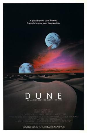 """Poster art for """"Dune."""""""