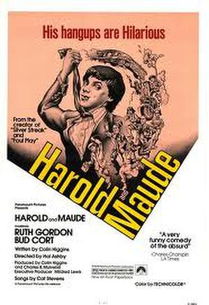 "Poster art for ""Harold and Maude."""