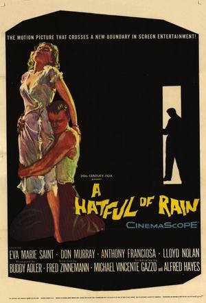 "Poster art for ""A Hatful of Rain."""