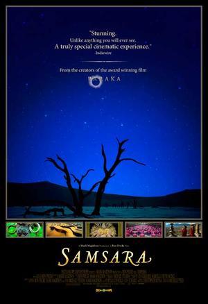 """Poster art for """"Samsara."""""""
