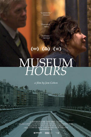 """Poster art for """"Museum Hours."""""""
