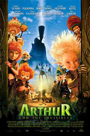 """Poster art for """"Arthur and the Invisibles."""""""