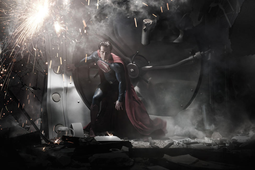 Man of Steel 3D Photos + Posters