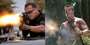 10 Ways Old Arnold Schwarzenegger Kicks Young Schwarzenegger's Ass