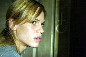 "Katherine (Hilary Swank) in ""The Reaping."""