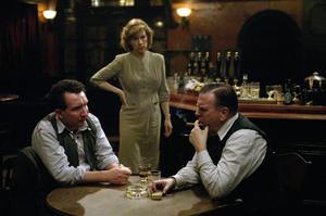 "Eddie Marsan, Juliet Stevenson and Timothy Spall in ""Pierrepoint."""