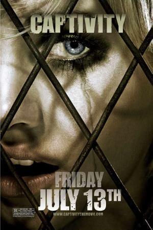 """Poster art for """"Captivity."""""""