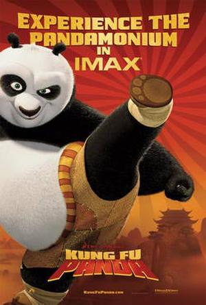 "Poster art for ""Kung Fu Panda: The IMAX Experience."""