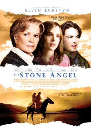 "Poster art for ""The Stone Angel."""