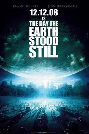 "Poster art for ""The Day the Earth Stood Still."""