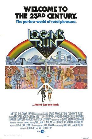 "Poster art for ""Logan's Run."""