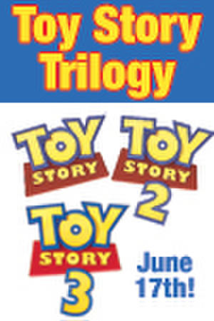 "Poster art for ""Toy Story Trilogy."""