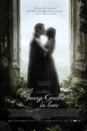 "Poster art for ""Young Goethe in Love."""