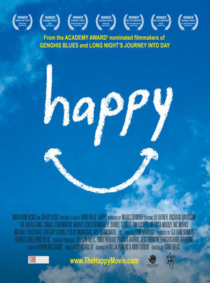 """Poster art for """"Happy."""""""