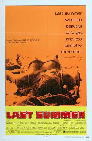 """Poster art for """"Last Summer."""""""