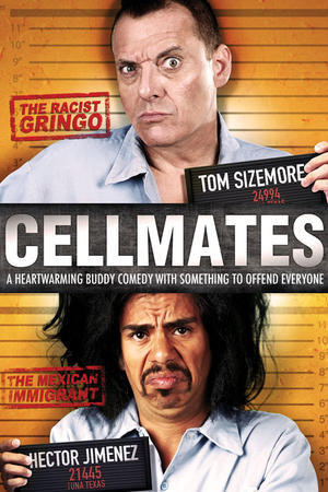 """Poster art for """"Cellmates."""""""