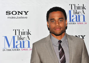 "Michael Ealy at the New York premiere of ""Think Like A Man."""