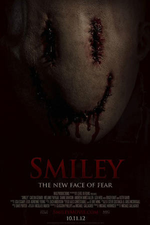 "Poster art for ""Smiley."""
